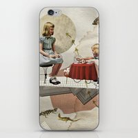 tea iPhone & iPod Skins featuring tea time by Heather Landis