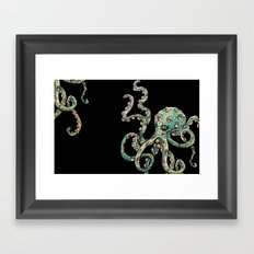 Octopodes Framed Art Print
