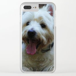 Happy Westie Clear iPhone Case