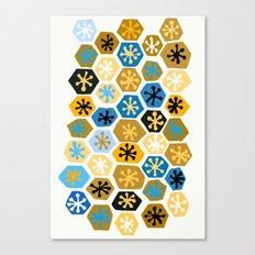 Retro Pattern Canvas Print