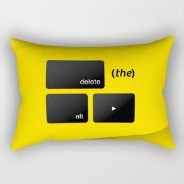 Delete the Alt Right Rectangular Pillow