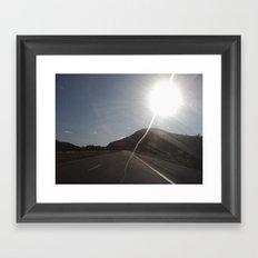 Light Will Guide You Home Framed Art Print