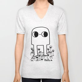 Out In The Yard Unisex V-Neck