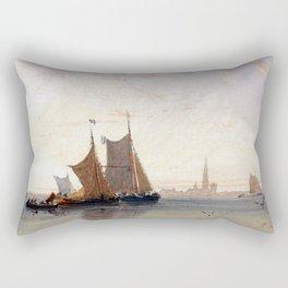 David Cox Antwerp, Morning Rectangular Pillow