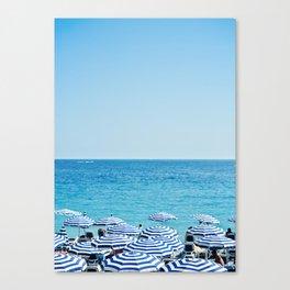 Hues of Blue Canvas Print