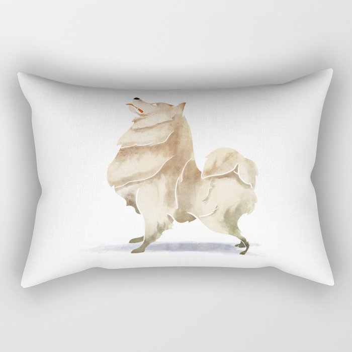Samoyed Rectangular Pillow