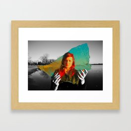 Reality Away Framed Art Print