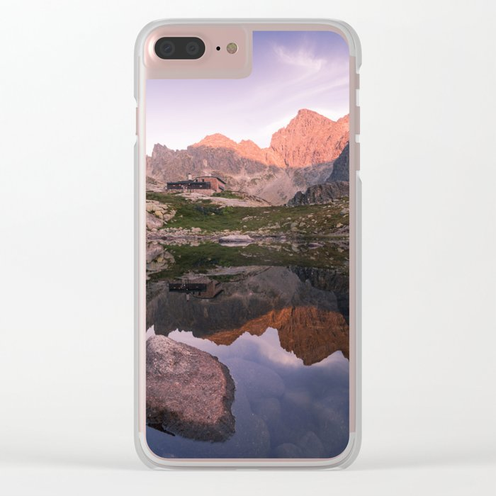 Rocky Lake Clear iPhone Case