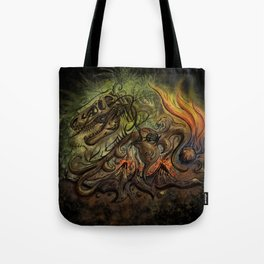 Extinction Chaos Tote Bag
