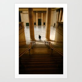Groove of the Urban Gadabout - Chicago Union Station Art Print