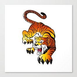 Japanese Tiger Canvas Print