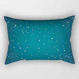 Pois fond vert Rectangular Pillow