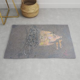 Love Runs The Streets (L'Amour Court Les Rues) Rug