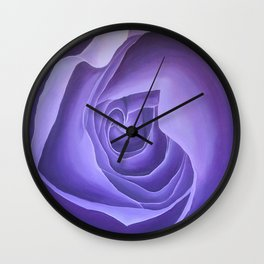 Crown Chakra Rose Wall Clock