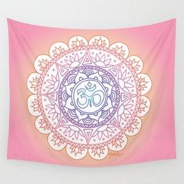 Peaceful Ohm Mandala Wall Tapestry
