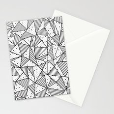 Abstract Spots Stationery Cards
