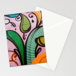 Colors at the wall Stationery Cards