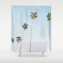 Beach Palms Shower Curtain