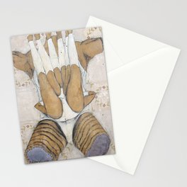 Up, or Down Stationery Cards