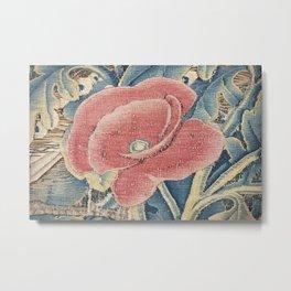 Flower Tapestry Metal Print
