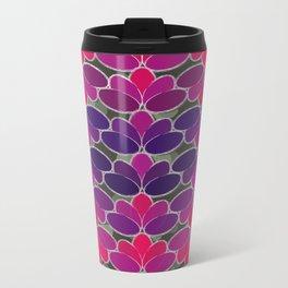 Penelope Pattern Metal Travel Mug