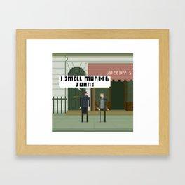 Sherlock 221B Framed Art Print