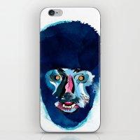 werewolf iPhone & iPod Skins featuring werewolf by Alvaro Tapia Hidalgo