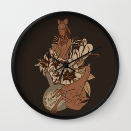 Witch's bouquet Wall Clock
