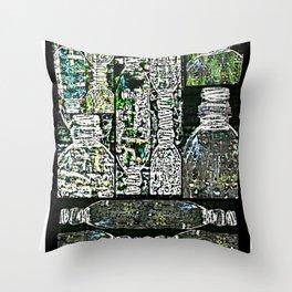 Plastics series 13 Throw Pillow