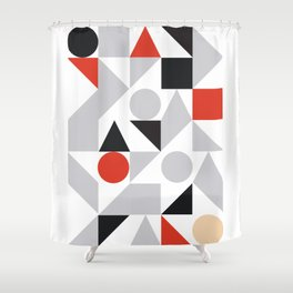 Geometric 7 Shower Curtain