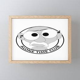 Alone Time Club: Fifteen Bean Chili Framed Mini Art Print