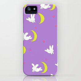 Usagi (Sailor Moon) Bedspread Bunny and Moon  iPhone Case