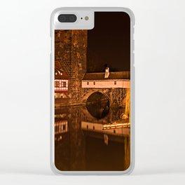Romantic Nuremberg Bavaria Clear iPhone Case