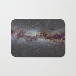 The Milky Way from Scorpio Antares and Sagitarius to North America Nebula in Cygnus Bath Mat