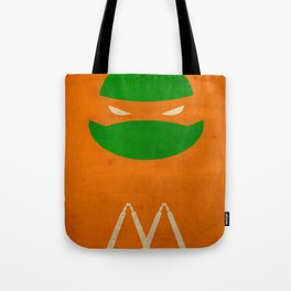 TMNT Mikey poster Tote Bag
