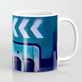 Road Roller Chevron 04 - Industrial Abstract (everyday 20.01.2017) Coffee Mug