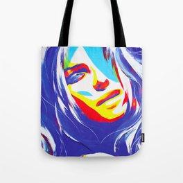 Trice/Blue Tote Bag
