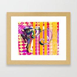 Hamon Storm Framed Art Print