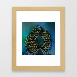 The wait was worth it. A Court of Wings and Ruin (ACOWAR). Framed Art Print
