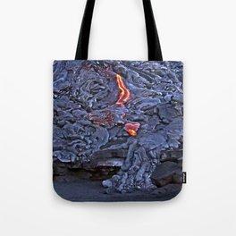 Kilauea Volcano Lava Flow. 2 Tote Bag