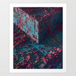 Cubo Art Print