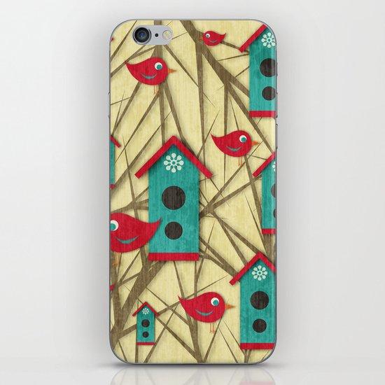 Shabby Sweet Tweet iPhone & iPod Skin