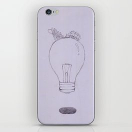 The Lamp iPhone Skin