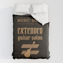 Solos = DON'T GO-s! — Music Snob Tip #723 Comforters