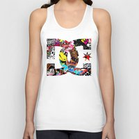 stickers Tank Tops featuring Desivo Dc Hand Stickers Bomb Decal Usdm Jdm by arul85
