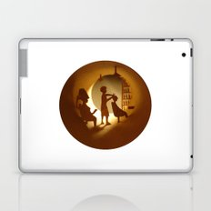 Hairdressing salon (Salon de coiffure) Laptop & iPad Skin