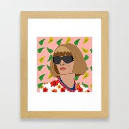 Anna Wintour Framed Art Print