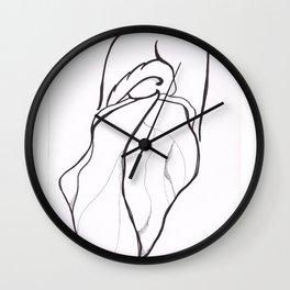 Fathoms Below II Wall Clock