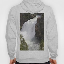 Grand Canyon Of The Yellowstone Lower Falls Hoody