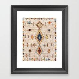 N250 - Oriental Heritage Berber Traditional Moroccan Style Framed Art Print